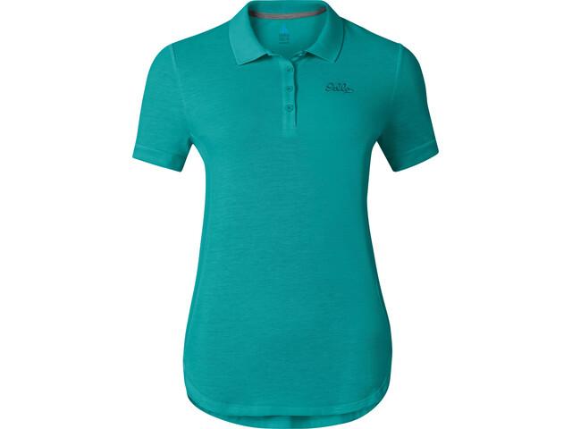 Odlo Trim - T-shirt manches courtes Femme - Bleu pétrole